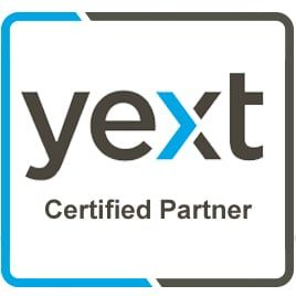 We're a YEXT Certified Partner - Local SEO Agency